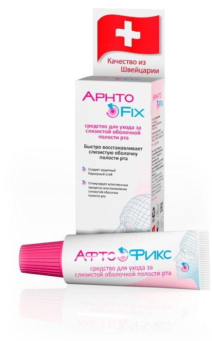 фото упаковки АфтоФикс Бальзам для ухода за полостью рта