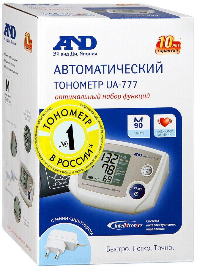 фото упаковки Тонометр автоматический AND UA-777
