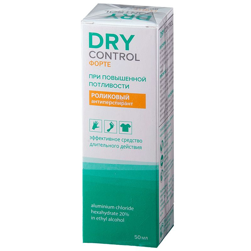 фото упаковки Dry Control Forte роликовый антиперспирант 20%