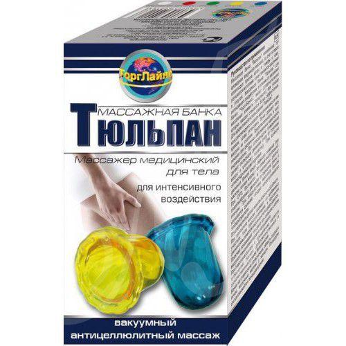 фото упаковки Тюльпан Массажер медицинский для тела