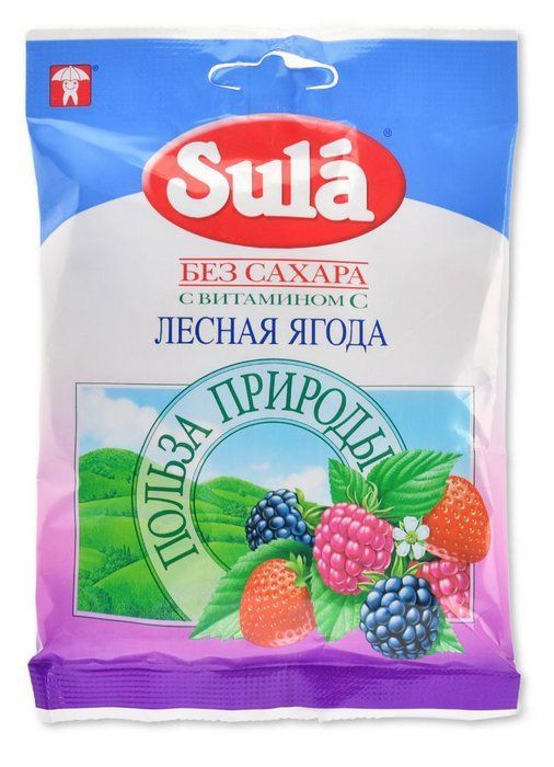фото упаковки Sula карамель леденцовая без сахара