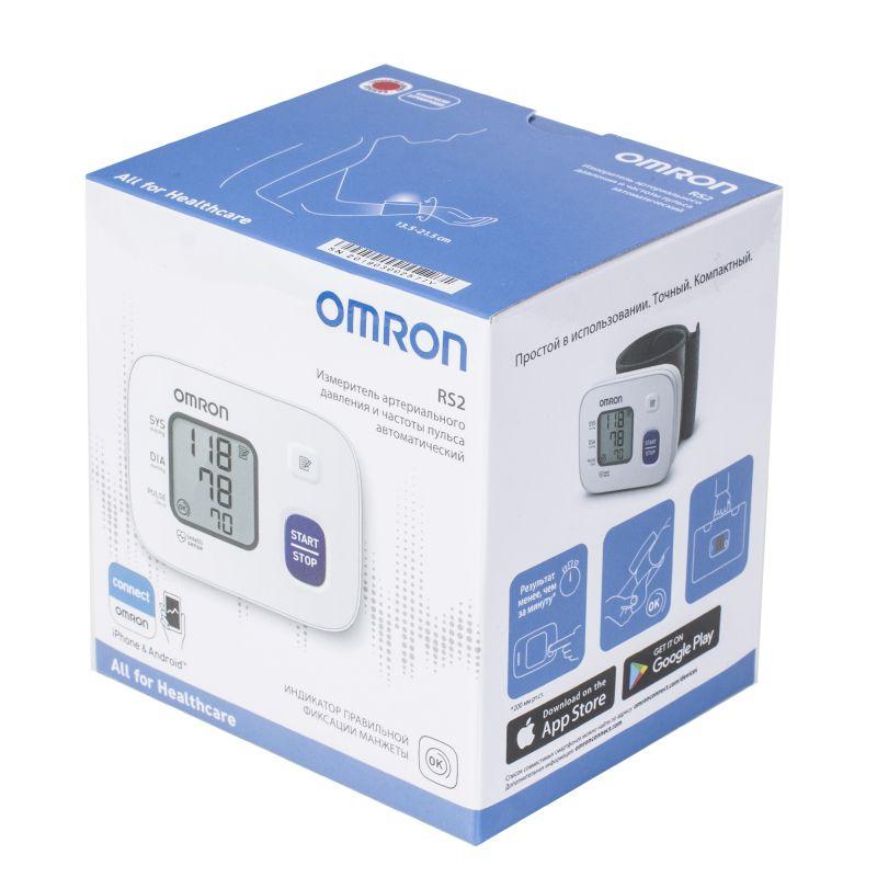 фото упаковки Тонометр автоматический OMRON RS2 на запястье
