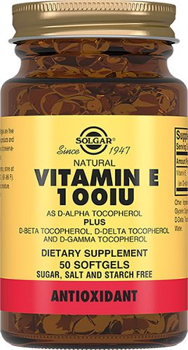 фото упаковки Solgar Витамин Е 100 МЕ
