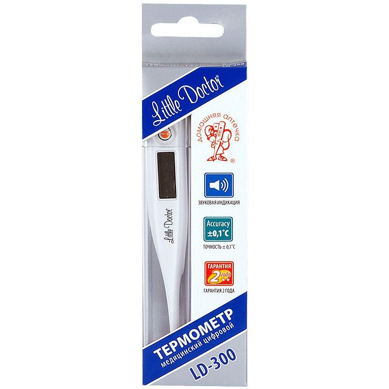 фото упаковки Термометр медицинский цифровой LD-300