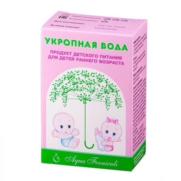 фото упаковки Укропная вода