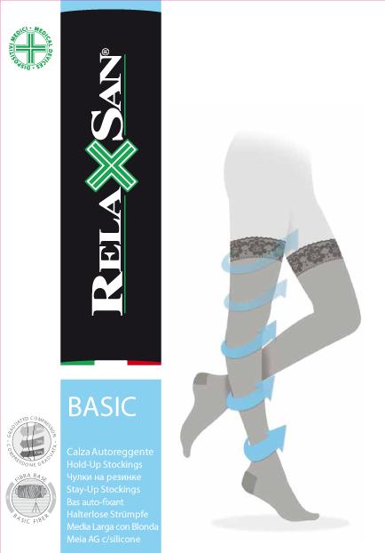 фото упаковки Relaxsan Stay-up Чулки компрессионные 1 класс компрессии 140 DEN