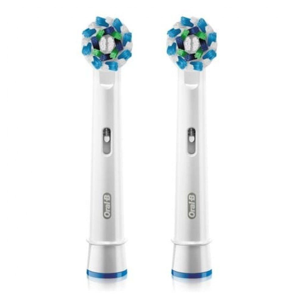 Oral-B CrossAction Насадка для электрической зубной щетки, Е850-2, 2шт.