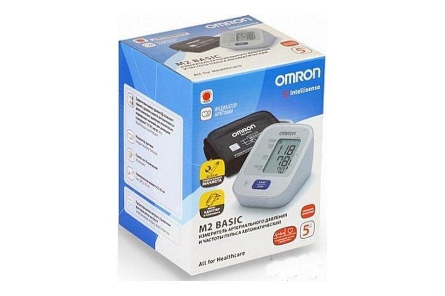 фото упаковки Тонометр автоматический OMRON М2 Basic