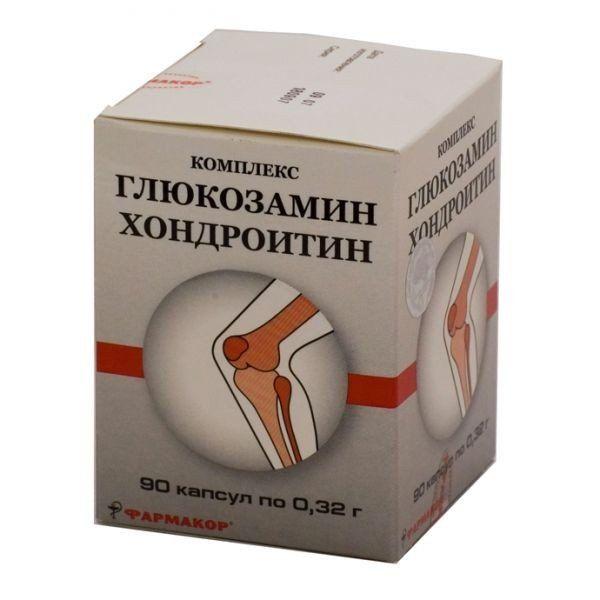 фото упаковки ГХК (глюкозамин-хондроитиновый комплекс)