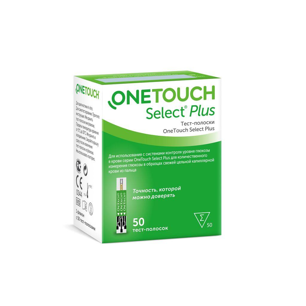 фото упаковки Тест-полоски OneTouch Select Plus