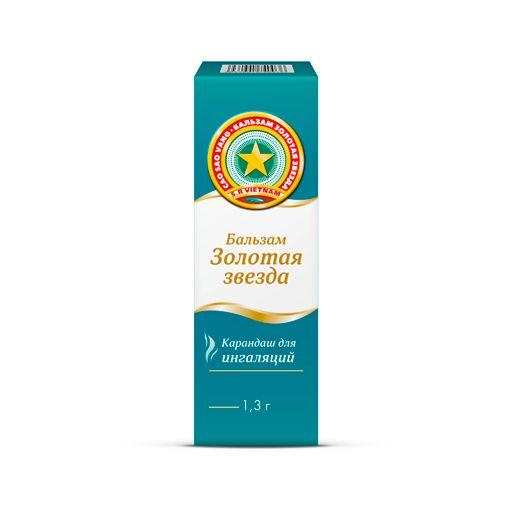 фото упаковки Золотая звезда карандаш для ингаляций