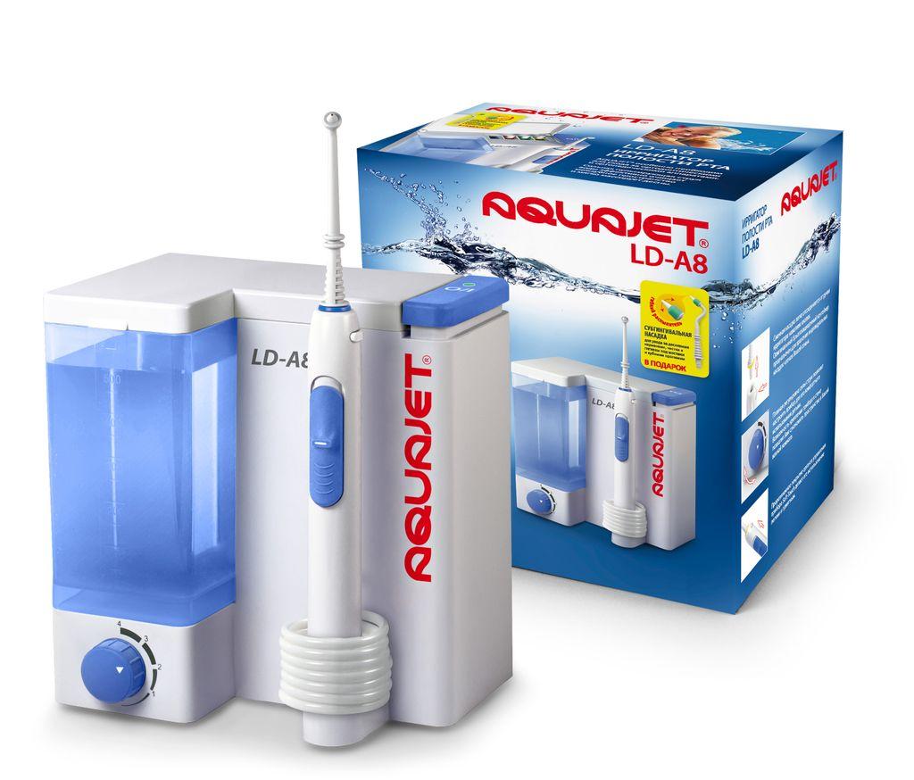 фото упаковки Aquajet LD-А8 Ирригатор полости рта