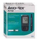 Accu-Chek Active Глюкометр, с принадлежностями, 1шт.