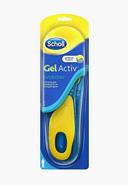 Scholl GelActiv Everyday стельки для комфорта на каждый день для мужчин, 40-46, 2шт.