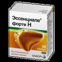 Эссенциале форте Н, 300 мг, капсулы, 30шт.