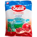Sula карамель леденцовая без сахара, со вкусом или ароматом граната, 60 г, 1шт.