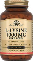 Solgar L-Лизин 1000 мг, таблетки, 50шт.