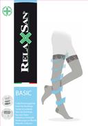 Relaxsan Stay-up Чулки компрессионные 1 класс компрессии 140 DEN, р. 4, арт. 870 (18-22 mm Hg), 140 DEN (телесного цвета), пара, 1шт.