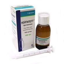 Нейпилепт, 100 мг/мл, раствор для приема внутрь, 100 мл, 1шт.