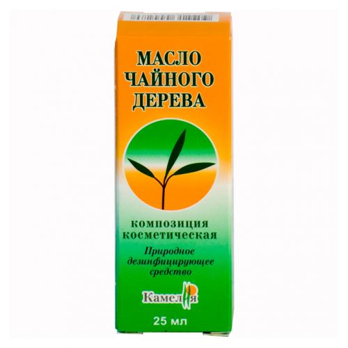 Масло чайного дерева косметическое, масло косметическое, 25 мл, 1шт.