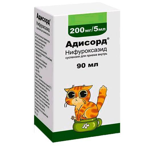 Адисорд, 200 мг/5 мл, суспензия, 90 мл, 1шт.