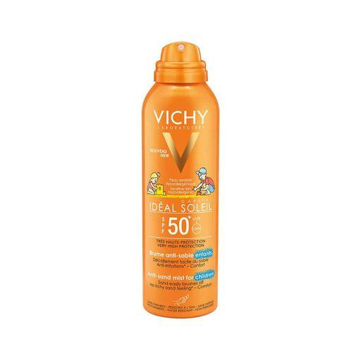 Vichy Capital Ideal Soleil Спрей-вуаль детский анти-песок SPF50+, спрей, 200 мл, 1шт.