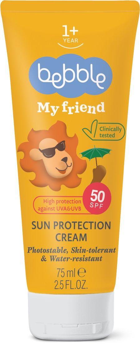 Bebble my friend крем солнцезащитный spf 50, крем, 75 мл, 1шт.