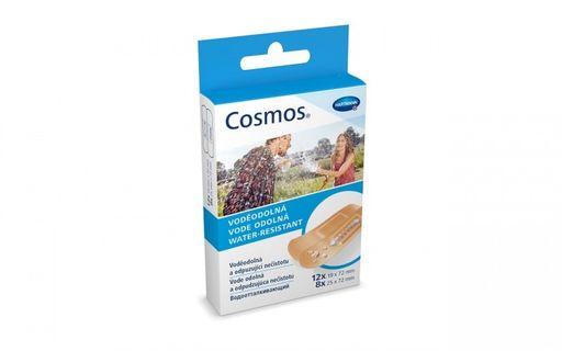 Cosmos Water-Resistant Пластырь, 2 размера, пластырь медицинский, водоотталкивающий, 20шт.