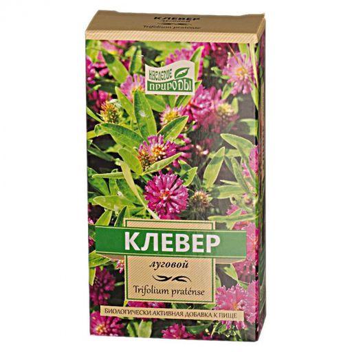 Наследие природы клевер луговой, сырье растительное измельченное, 50 г, 1шт.