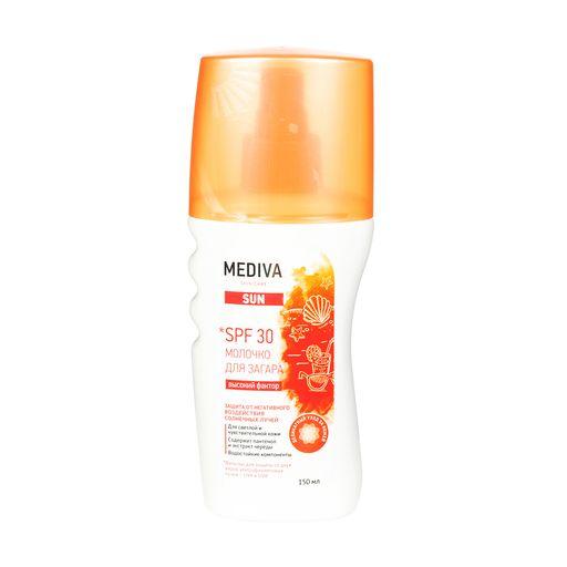 Mediva Sun Молочко для загара spf-30, молочко для тела, 150 мл, 1шт.