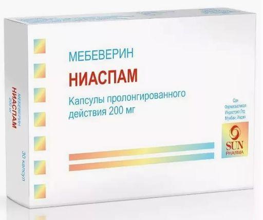 Ниаспам, 200 мг, капсулы пролонгированного действия, 30шт.