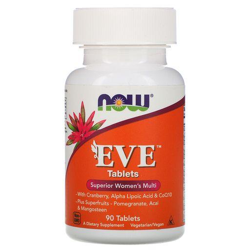 Now Eve Мультивитамины Ева, таблетки, 90шт.