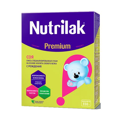 Nutrilak Premium Соя специальная смесь, смесь сухая, 350 г, 1шт.