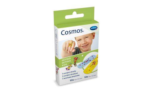 Cosmos Kids Пластырь, 2 размера, пластырь медицинский, детский (ая), 20шт.