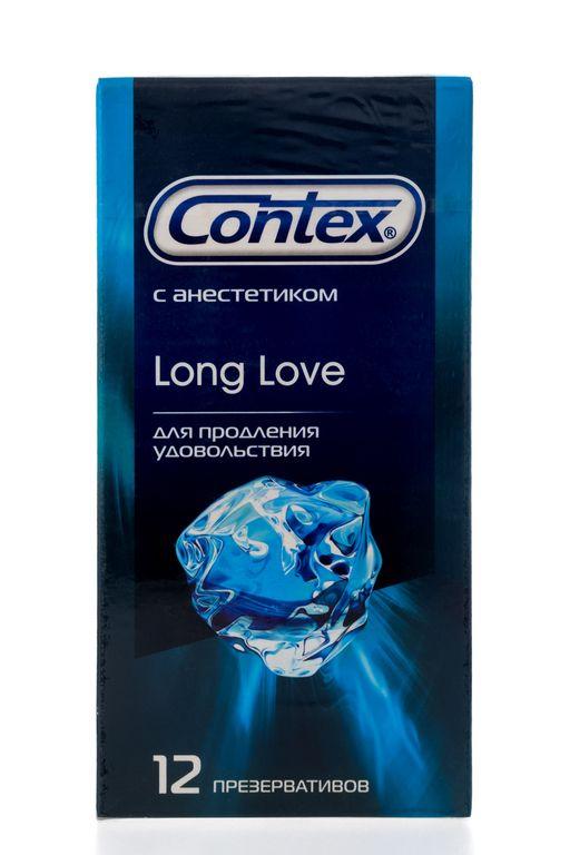 Презервативы Contex Long Love, презерватив, 12шт.