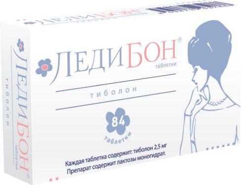 Ледибон, 2.5 мг, таблетки, 84шт.