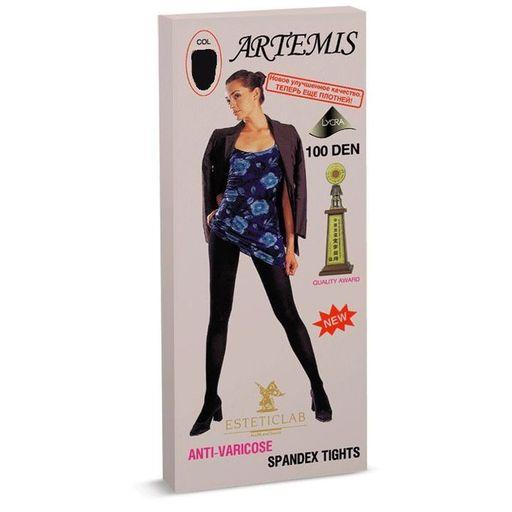 Artemis колготки антиварикозные, черного цвета, 100 DEN, 1шт.