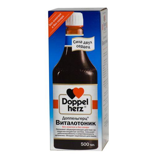 Доппельгерц Виталотоник, раствор для приема внутрь, 500 мл, 1шт.