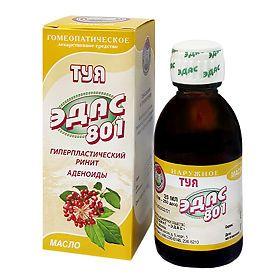 Эдас-801 Туя, масло для наружного применения, 25 мл, 1шт.