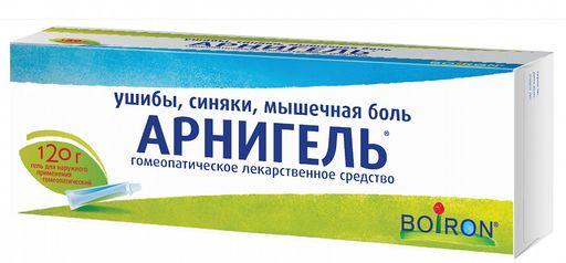 Арнигель, гель для наружного применения гомеопатический, 120 г, 1шт.