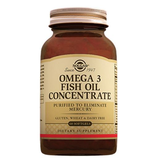 Solgar Концентрат рыбьего жира Омега-3, капсулы, 60шт.