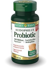Natures Bounty Пробиотик-Ацидофилус, капсулы, 100шт.