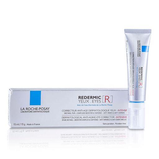 La Roche-Posay Redermic R Yeux интенсивный антивозрастной уход для контура глаз, крем для контура глаз, 15 мл, 1шт.
