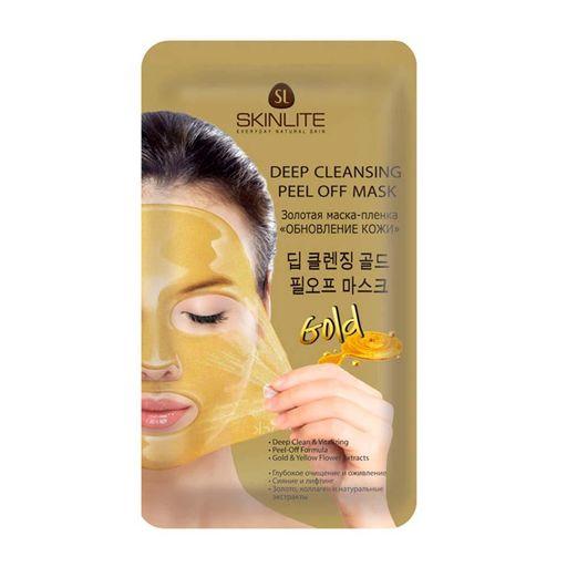 Skinlite маска-пленка золотая обновление кожи, 15 мл, 1шт.