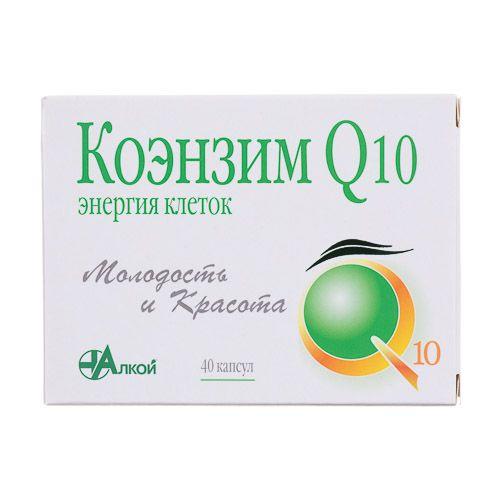 Коэнзим Q10 Энергия клеток, 500 мг, капсулы, 40шт.
