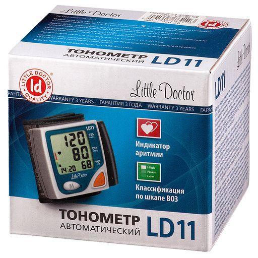 Тонометр автоматический Little Doctor LD11 на запястье, 1шт.