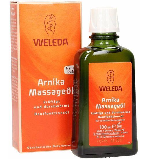 Weleda Арника масло массажное, масло косметическое, 50 мл, 1шт.