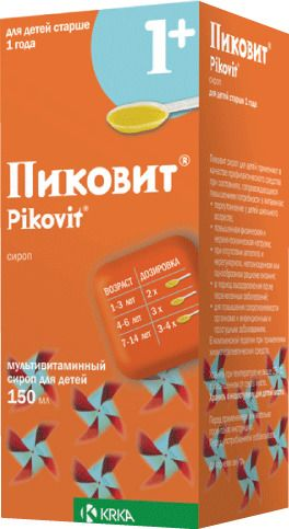 Пиковит (сироп), сироп для детей, 150 мл, 1шт.