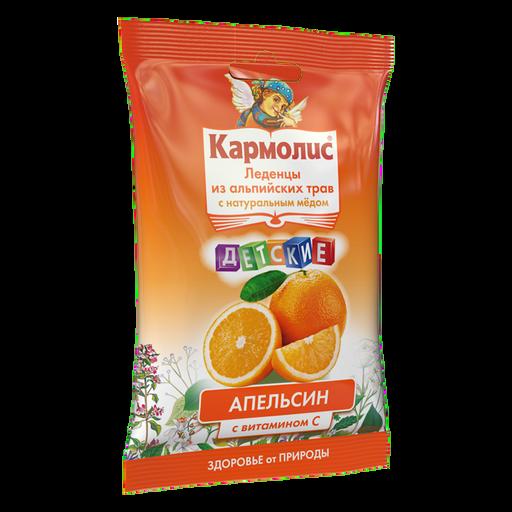 Кармолис Леденцы с медом и витамином С, 4.16 г, леденцы, для детей, со вкусом апельсина, 75 г, 1шт.