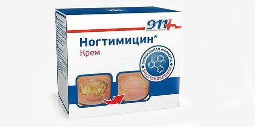 911 Ногтимицин, крем, 30 мл, 1шт.